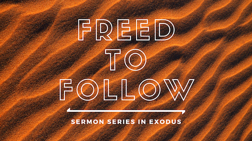 Freed to Follow Sermon Series in Exodus